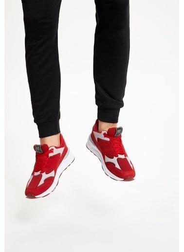 Defacto –Fit Bağcıklı Spor Ayakkabı Bordo